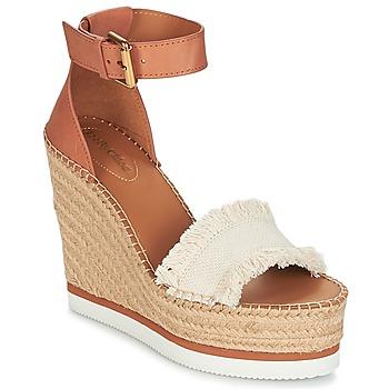 Zapatos Mujer Alpargatas See by Chloé SB28152 Cognac / Beige