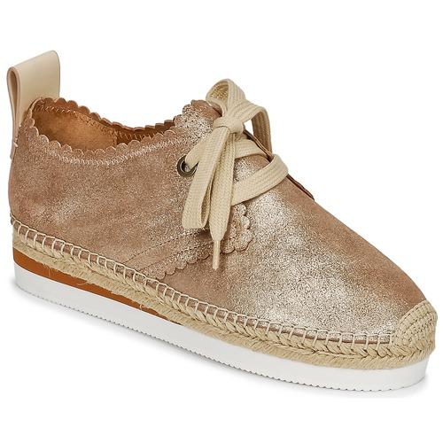 Zapatos promocionales See by Chloé SB30222 Oro  Gran descuento