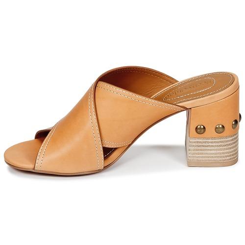 Chloé Zapatos ZuecosmulesSee Camel By Mujer Sb30083 I6f7vYgymb
