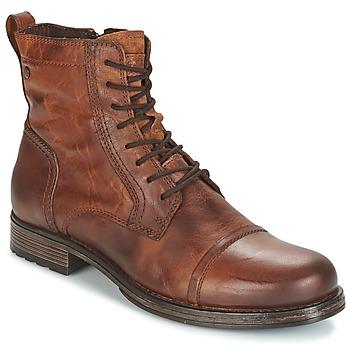 Zapatos Hombre Botas de caña baja Jack & Jones RISSOL Marrón