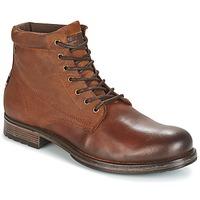Zapatos Hombre Botas de caña baja Jack & Jones JUSTIN Marrón