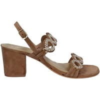 Zapatos Mujer Sandalias Le Chicche IA IN 19155B High heeled sandals Mujeres Brown Brown