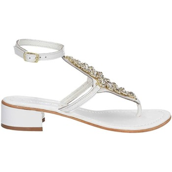 Zapatos Mujer Sandalias Le Chicche IA 19143 H 1 High heeled sandals Mujeres Bianco Bianco