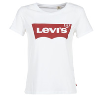textil Mujer camisetas manga corta Levi's THE PERFECT TEE Blanco