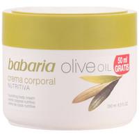 Belleza Mujer Hidratantes & nutritivos Babaria Aceite De Oliva Crema Nutritiva Corporal  250 ml