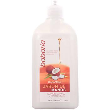 Belleza Productos baño Babaria Aloe Vera & Coco Jabón Líquido Manos