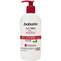 Belleza Hidratantes & nutritivos Babaria Piel Atopica Aloe Vera Body Milk 0%