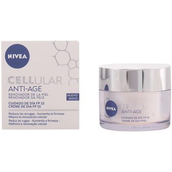 Belleza Mujer Antiedad & antiarrugas Nivea Cellular Anti-age Day Cream Spf15  50 ml