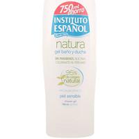 Belleza Productos baño Instituto Español Natura Gel De Ducha Piel Sensible 750  Ml 750 ml