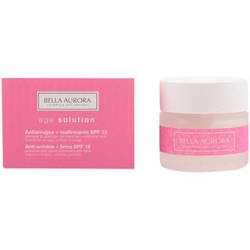 Belleza Mujer Hidratantes & nutritivos Bella Aurora Age Solution Antiarrugas & Reafirmante Spf15  50 ml