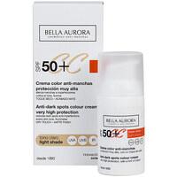 Belleza Mujer Hidratantes & nutritivos Bella Aurora Cc Cream Anti-manchas Tono Claro Spf50+  30 ml