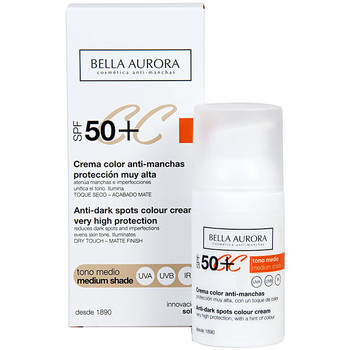 Belleza Mujer Hidratantes & nutritivos Bella Aurora Cc Cream Anti-manchas Tono Medio Spf50+  30 ml