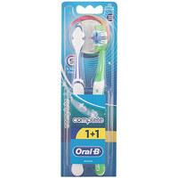 Belleza Tratamiento facial Oral-B Complete 5 Ways Clean Cepillo Dental medio 2 Pz 2 u
