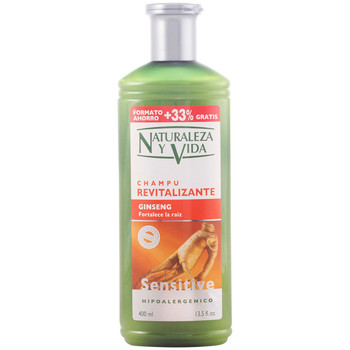 Belleza Champú Naturaleza Y Vida Champu Sensitive Revitalizante 300+100 Ml 400 ml
