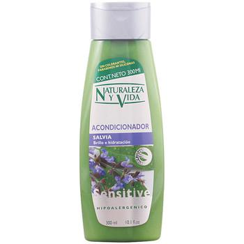 Belleza Champú Naturaleza Y Vida Acondicionador Sensitive Salvia  300 ml