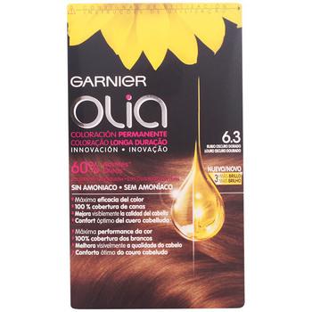 Belleza Mujer Coloración Garnier Olia Coloración Permanente 6,3 Rubio Oscuro Dorado 4 Pz 4 u