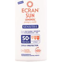 Belleza Protección solar Ecran Sun Lemonoil Sensitive Pistola Spf50+  300 ml