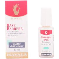 Belleza Mujer Tratamiento para uñas Mavala Base Barrera Uñas Delicadas  10 ml