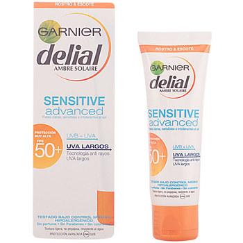Belleza Protección solar Garnier Sensitive Advanced Crema Facial Spf50+  50 ml