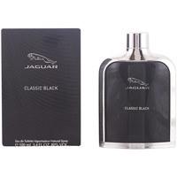 Belleza Hombre Agua de Colonia Jaguar Classic Black Edt Vaporizador  100 ml