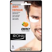 Belleza Mujer Hidratantes & nutritivos Iroha Nature Men Eye Hydrogel Patches Anti-fatigue Vit Complex  6 pcs