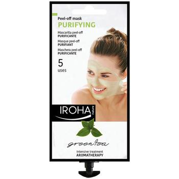 Belleza Mujer Mascarillas & exfoliantes Iroha Nature Peel-off Mask Purifying Green Tea  5 uses