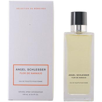 Belleza Mujer Agua de Colonia Angel Schlesser Flor De Naranjo Pour Femme Edt Vaporizador  100 ml