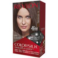 Belleza Mujer Tratamiento capilar Revlon Gran Consumo Colorsilk Tinte 27-castaño Calido Profundo
