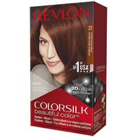 Belleza Mujer Tratamiento capilar Revlon Colorsilk Tinte 31-castaño Oscuro Cobrizo