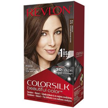 Belleza Mujer Tratamiento capilar Revlon Colorsilk Tinte 37-chocolate 1 u