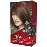 Belleza Mujer Tratamiento capilar Revlon Gran Consumo Colorsilk Tinte 41-castaño Medio