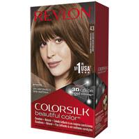 Belleza Mujer Tratamiento capilar Revlon Gran Consumo Colorsilk Tinte 43-castaño Medio Dorado