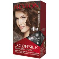 Belleza Mujer Tratamiento capilar Revlon Colorsilk Tinte 46-castaño Cobrizo Dorado