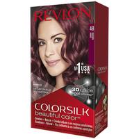 Belleza Mujer Tratamiento capilar Revlon Colorsilk Tinte 48-borgoña 1 u