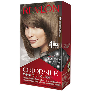 Belleza Mujer Tratamiento capilar Revlon Gran Consumo Colorsilk Tinte 50-castaño Claro Cenizo