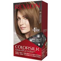 Belleza Mujer Tratamiento capilar Revlon Gran Consumo Colorsilk Tinte 54-castaño Claro Dorado