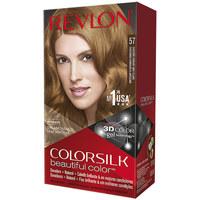 Belleza Mujer Tratamiento capilar Revlon Colorsilk Tinte 57-castaño Dorado Muy Claro 1 u