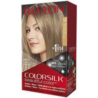 Belleza Mujer Tratamiento capilar Revlon Gran Consumo Colorsilk Tinte 60-rubio Oscuro Cenizo