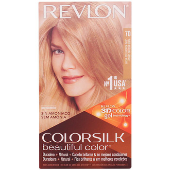 Belleza Tratamiento capilar Revlon Colorsilk Tinte 70-rubio Medio Ceniza 1 u