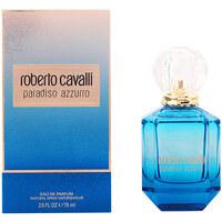 Belleza Mujer Perfume Roberto Cavalli Paradiso Azzurro Edp Vaporizador  75 ml