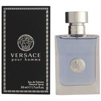 Belleza Hombre Agua de Colonia Versace Pour Homme Edt Vaporizador  50 ml