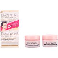Belleza Mujer Antiedad & antiarrugas Diadermine Crema Antiarrugas Doble Accion Dia Lote  2 x 50 ml