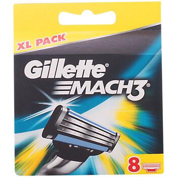 Belleza Hombre Cuidado de la barba Gillette Mach 3 Cargador  8 recambios
