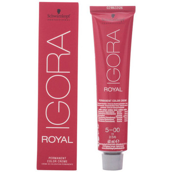 Belleza Mujer Coloración Schwarzkopf Igora Royal 5-00  60 ml