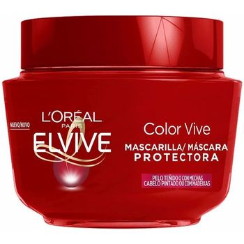 Belleza Acondicionador L'oréal Elvive Color-vive Mascarilla  300 ml