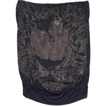 textil Mujer camisetas sin mangas Met Top Pix Negro