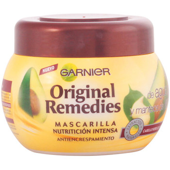 Belleza Acondicionador Garnier Original Remedies Mascarilla Aguacate Y Karite  300 ml