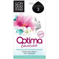Belleza Tratamiento capilar Llongueras Optima Hair Colour 3-dark Brown 1 u