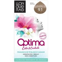 Belleza Tratamiento capilar Llongueras Optima Hair Colour 9.1-very Light Blond Cendre 1 u