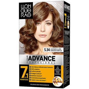 Belleza Tratamiento capilar Llongueras Color Advance 5,34 Castaño Claro Dorado Cobrizo 1 u